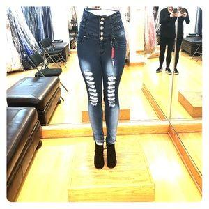Denim - High waist jeggins!!